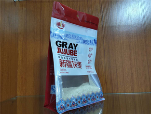 China Polyfunctional Flat Bottom Pouch , Customized Flat Pouch Packaging Bags supplier