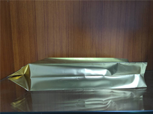 China Bespoke Aluminium Foil Stand Up Coffee Bags Lightweight Strong Sealing Side supplier