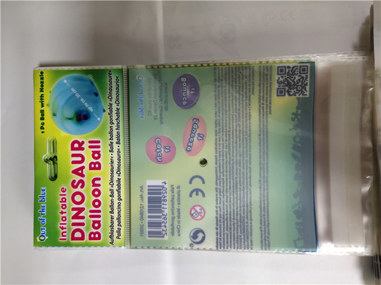 China Tasteless OPP Card Head Bag , Small Resealable Plastic Bags Custom Color distributor