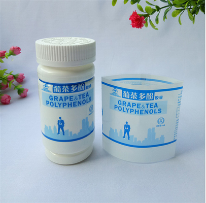 China Waterproof Shrink Film Labels , Custom Shrink Wrap Labels Every Size Available distributor