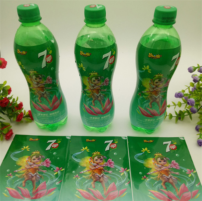China Custom Shape Shrink Film Labels Vivid Gravure Printing Up To 13 Colors distributor